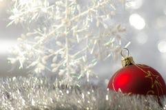 Fondo del día de fiesta de invierno Fotos de archivo