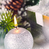 Fondo del día de fiesta de la Navidad Imagen de archivo libre de regalías