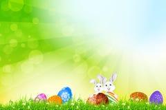 Fondo del día de fiesta de Pascua imágenes de archivo libres de regalías