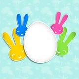 Fondo del día de fiesta de Pascua de la primavera stock de ilustración