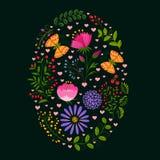 Fondo del día de fiesta de Pascua de la primavera libre illustration