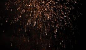 Fondo del día de fiesta del fuego artificial fotografía de archivo