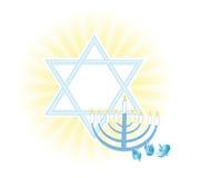 Fondo del día de fiesta judío Hanukkah