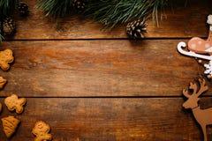 Fondo del día de fiesta de la Navidad y del Año Nuevo Imagen de archivo libre de regalías