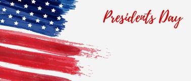 Fondo del día de fiesta de presidentes Day de los E.E.U.U. libre illustration