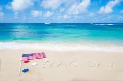 Fondo del día de la bandera Imágenes de archivo libres de regalías