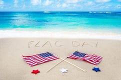 Fondo del día de la bandera Fotografía de archivo