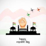 Fondo del día de la república libre illustration