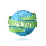 Fondo del Día de la Tierra stock de ilustración