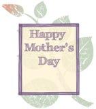 Fondo del día de madres del Grunge Foto de archivo