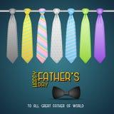 Fondo del día de padre con el lazo