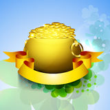 Fondo del día de St Patrick Imagen de archivo