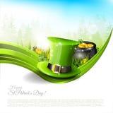 Fondo del día de St Patrick Imagen de archivo libre de regalías