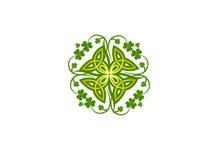 Fondo del día de St Patrick Fotografía de archivo libre de regalías