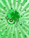 Fondo del día de St.Patrick Fotografía de archivo
