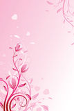 Fondo del día de tarjeta del día de San Valentín Fotografía de archivo