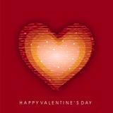 Fondo del día de tarjeta del día de San Valentín. Fotografía de archivo libre de regalías