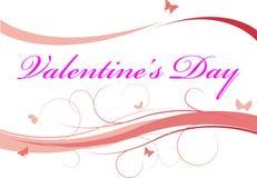 Fondo del día de tarjeta del día de San Valentín foto de archivo