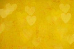 Fondo del día de tarjeta del día de San Valentín con los corazones Imagenes de archivo