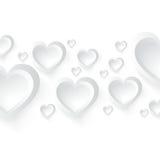 Fondo del día de tarjeta del día de San Valentín Ilustración Libre Illustration