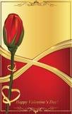 Fondo del día de tarjeta del día de San Valentín/tarjeta de felicitación felices stock de ilustración