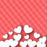 Fondo del día de tarjetas del día de San Valentín. Imágenes de archivo libres de regalías