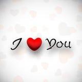 Fondo del día de tarjetas del día de San Valentín. Fotografía de archivo libre de regalías