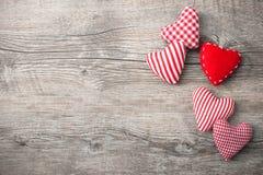 Fondo del día de tarjetas del día de San Valentín Fotografía de archivo libre de regalías
