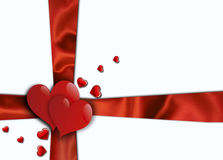 Fondo del día de tarjetas del día de San Valentín stock de ilustración