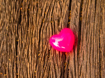 Fondo del día de tarjetas del día de San Valentín con los corazones Imagen de archivo libre de regalías