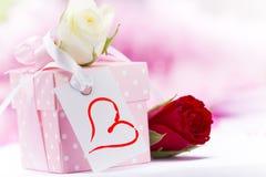 Fondo del día de Valentin fotografía de archivo