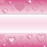 Fondo del día de Valentineâs Imágenes de archivo libres de regalías