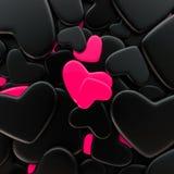 Fondo del día del ` s de la tarjeta del día de San Valentín Fotografía de archivo libre de regalías