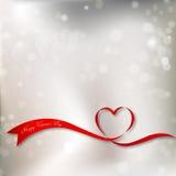 Fondo del día del ` s de la tarjeta del día de San Valentín del diseño del vector fotografía de archivo libre de regalías