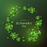 Fondo del día del `s del St Patrick Fotos de archivo libres de regalías