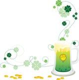 Fondo del día del St. Patrick stock de ilustración