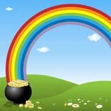 Fondo del día del St. Patrick ilustración del vector