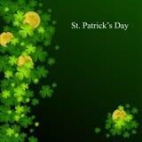 Fondo del día del St. Patrick Imagen de archivo libre de regalías