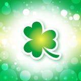 Fondo del día del St Patrick Fotografía de archivo