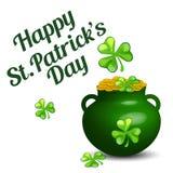 Fondo del día del St Patrick Imagenes de archivo