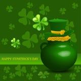 Fondo del día del St Patrick Imágenes de archivo libres de regalías