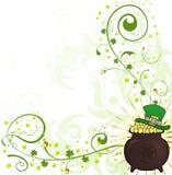 Fondo del día del St. Patrick Fotos de archivo libres de regalías