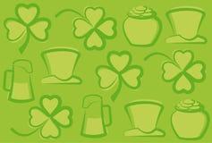 Fondo del día del St. Patrick Fotos de archivo
