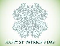 Fondo del día del St. Patricks Imagenes de archivo