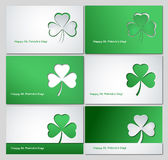 Fondo del día del St Patricks Foto de archivo libre de regalías