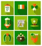 Fondo del día del St Patricks Imagenes de archivo