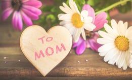 Fondo del día del ` s de la madre Imagen de archivo libre de regalías