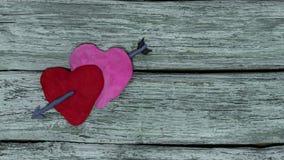 Fondo del día del ` s de la tarjeta del día de San Valentín metrajes