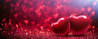 Fondo del día del ` s de la tarjeta del día de San Valentín imágenes de archivo libres de regalías