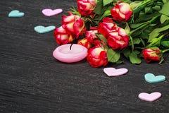 Fondo del día del ` s de la tarjeta del día de San Valentín Fotos de archivo libres de regalías